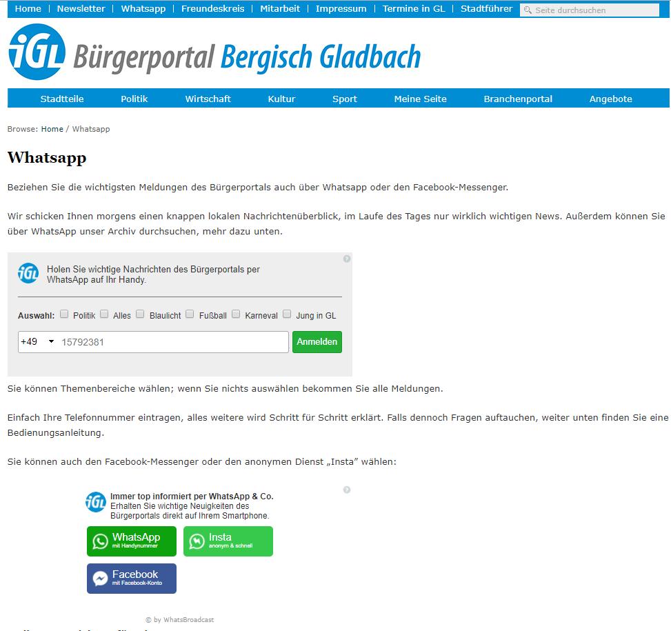 brgerportal-bergisch-gladbach-messenger-marketing