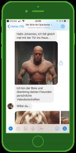 kwitt chatbot facebook messenger sparkasse