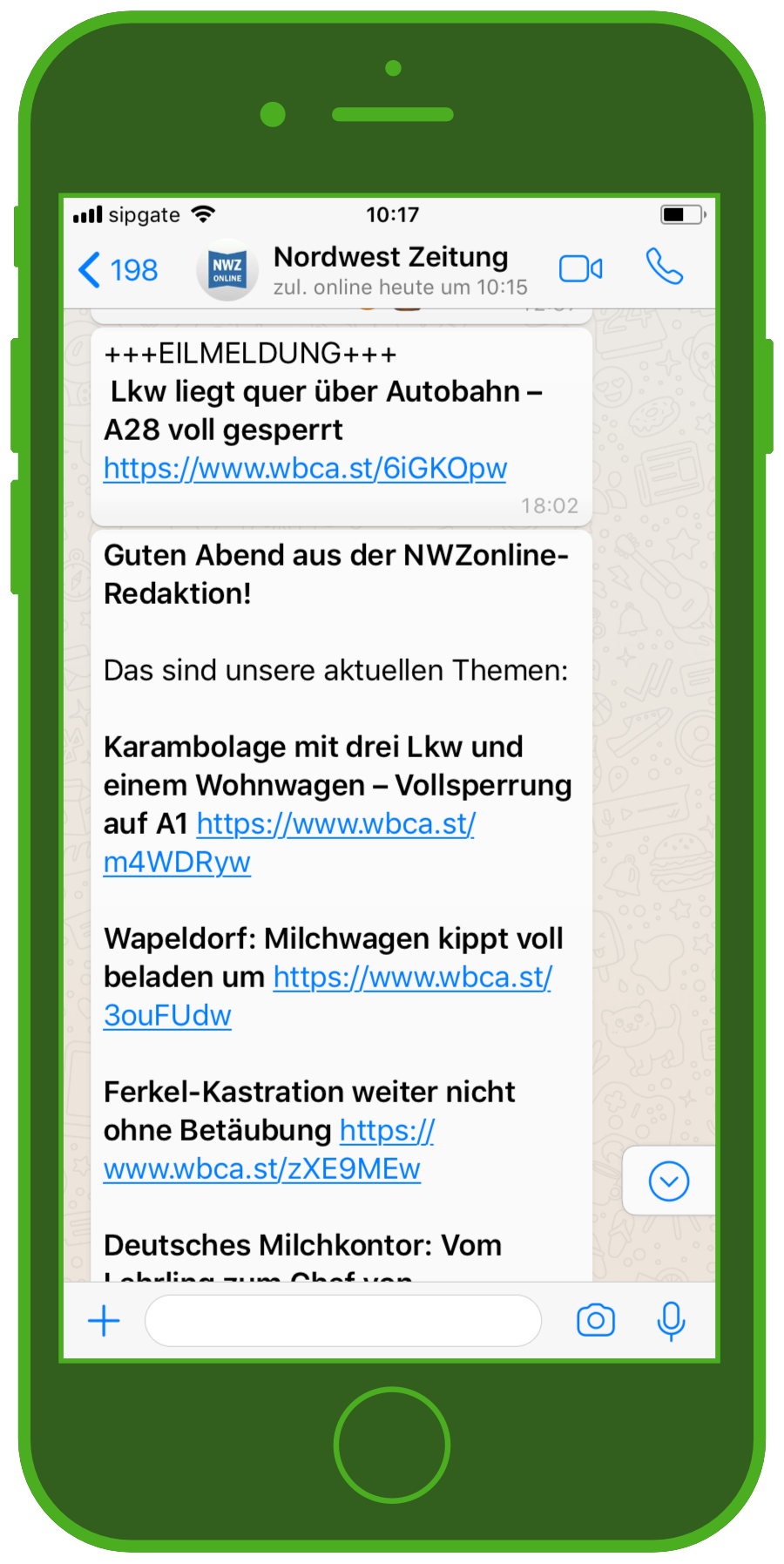 Nordwest Zeitung Chat
