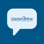 Wetterdienstleister im WhatsApp Messenger