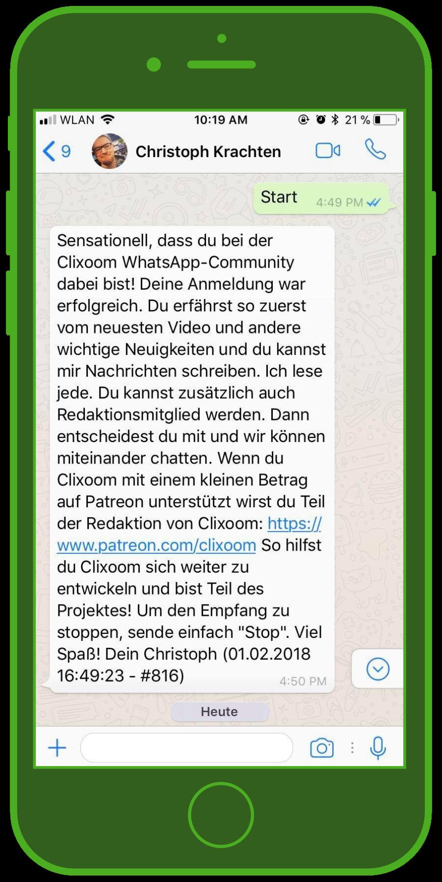 device-whatsapp-chrsitoph-krachten-influencer-newsletter