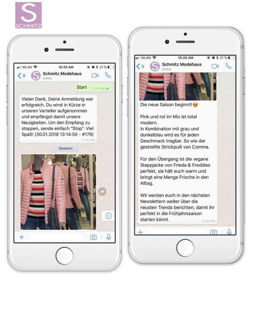 modehaus-schmitz-messenger-marketing-newsletter
