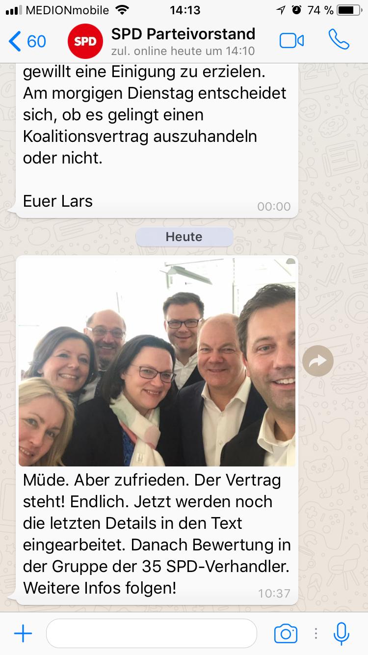 SPD chat