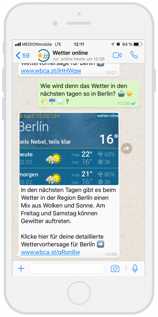 Chatbots-Kundenservice-WetterOnline-Facebook-Messenger