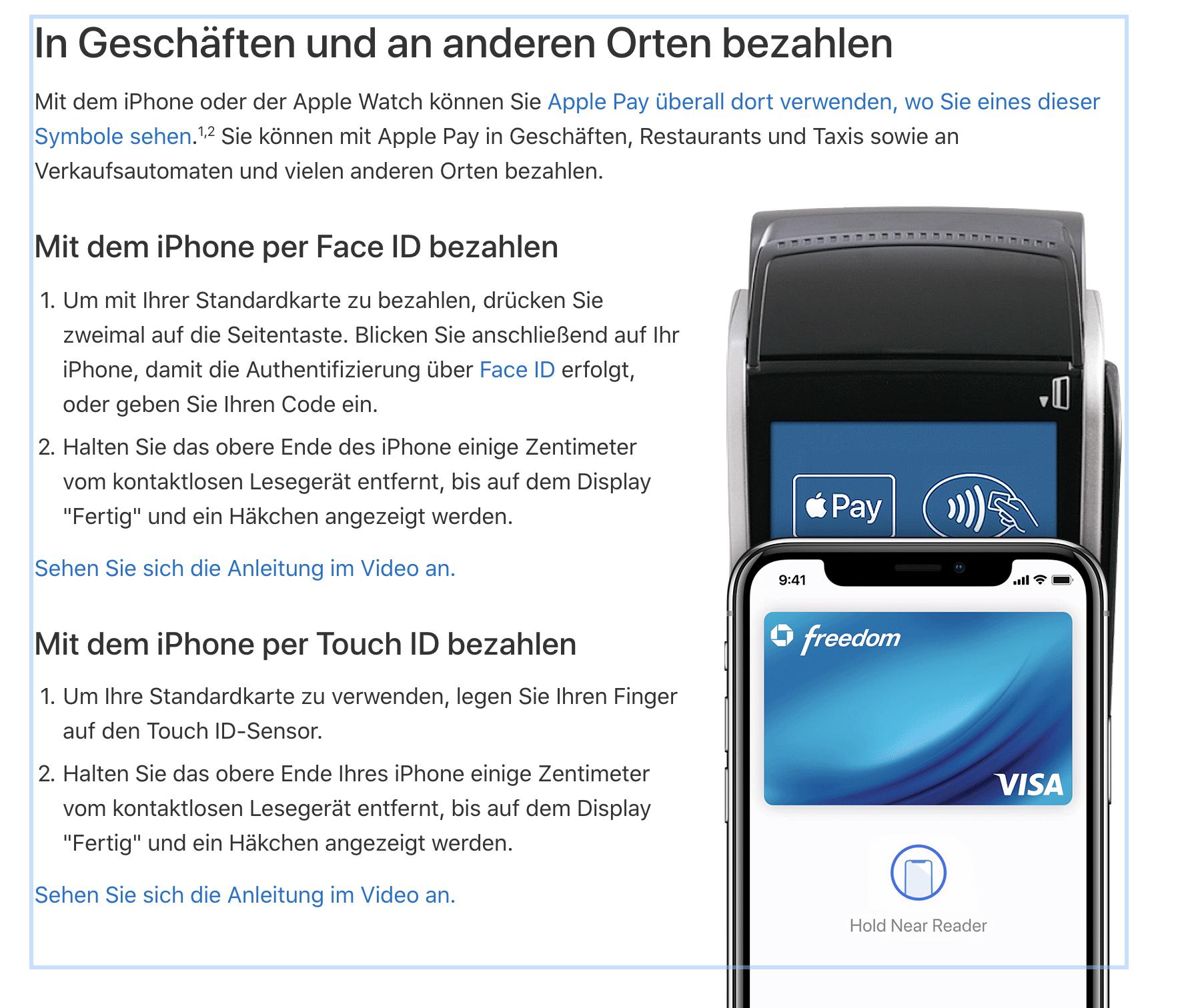 apple-business-chat-messenger-apple-pay-deutschland-geschaft-bezahlen