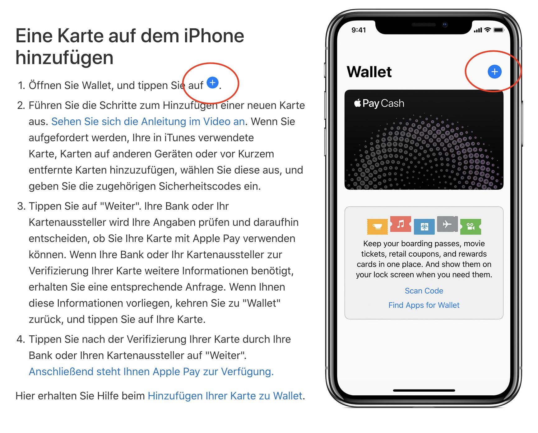 apple-business-chat-messenger-apple-pay-deutschland-karte-hinzufugen