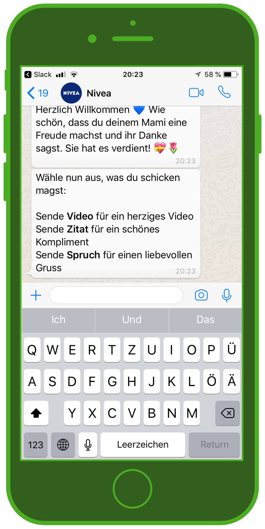 nivea-chatbot-whatsapp-muttertag