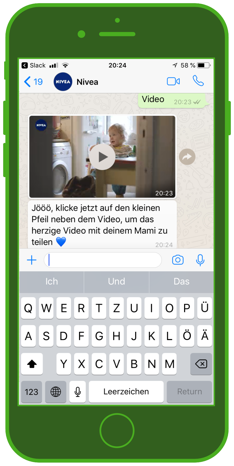 nivea-chatbot-whatsapp-muttertag-video
