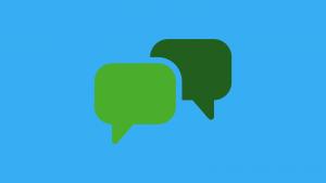 customer service chat