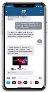 newegg imessage apple business chat