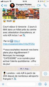 voyagespirates whatsapp
