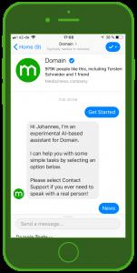 domain chat