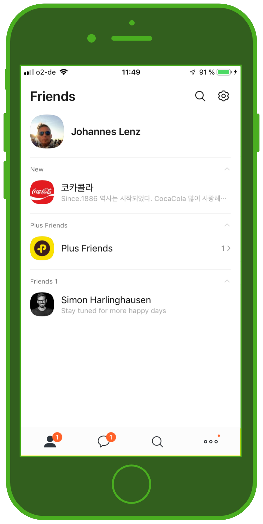 Messenger Apps & Brands KakaoTalk Messenger Friends