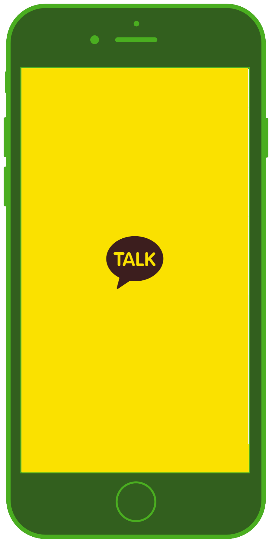 Messaging Apps & Brands KakaoTalk Logo