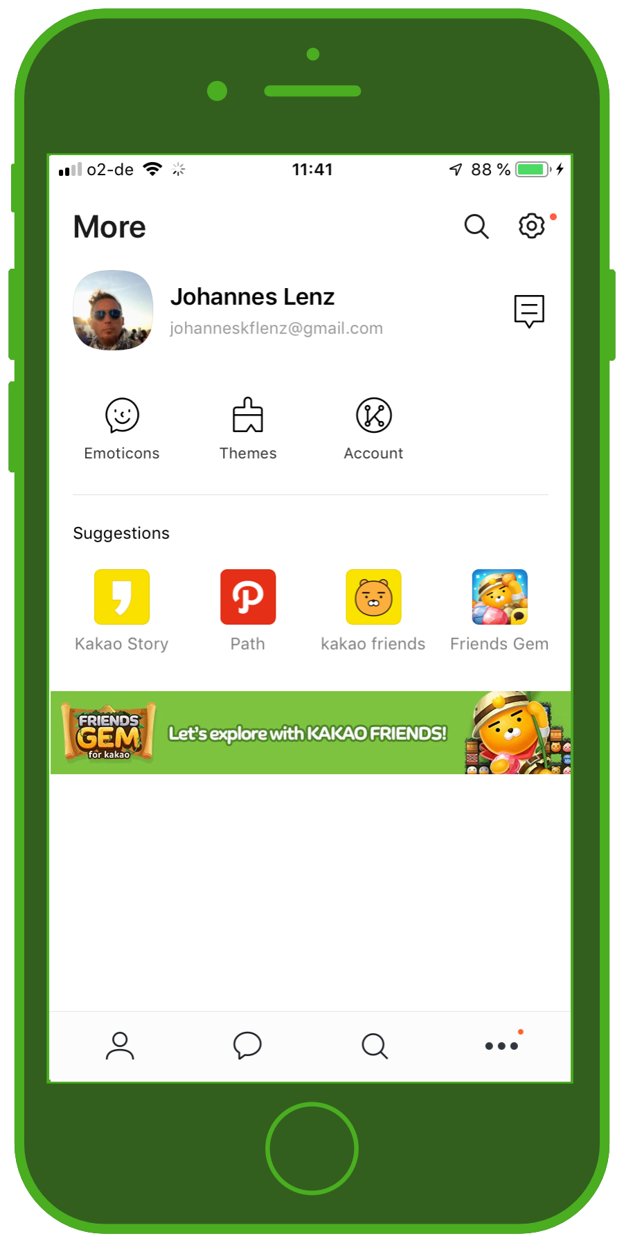 Messenger Apps & Brands KakaoTalk Messenger Profil