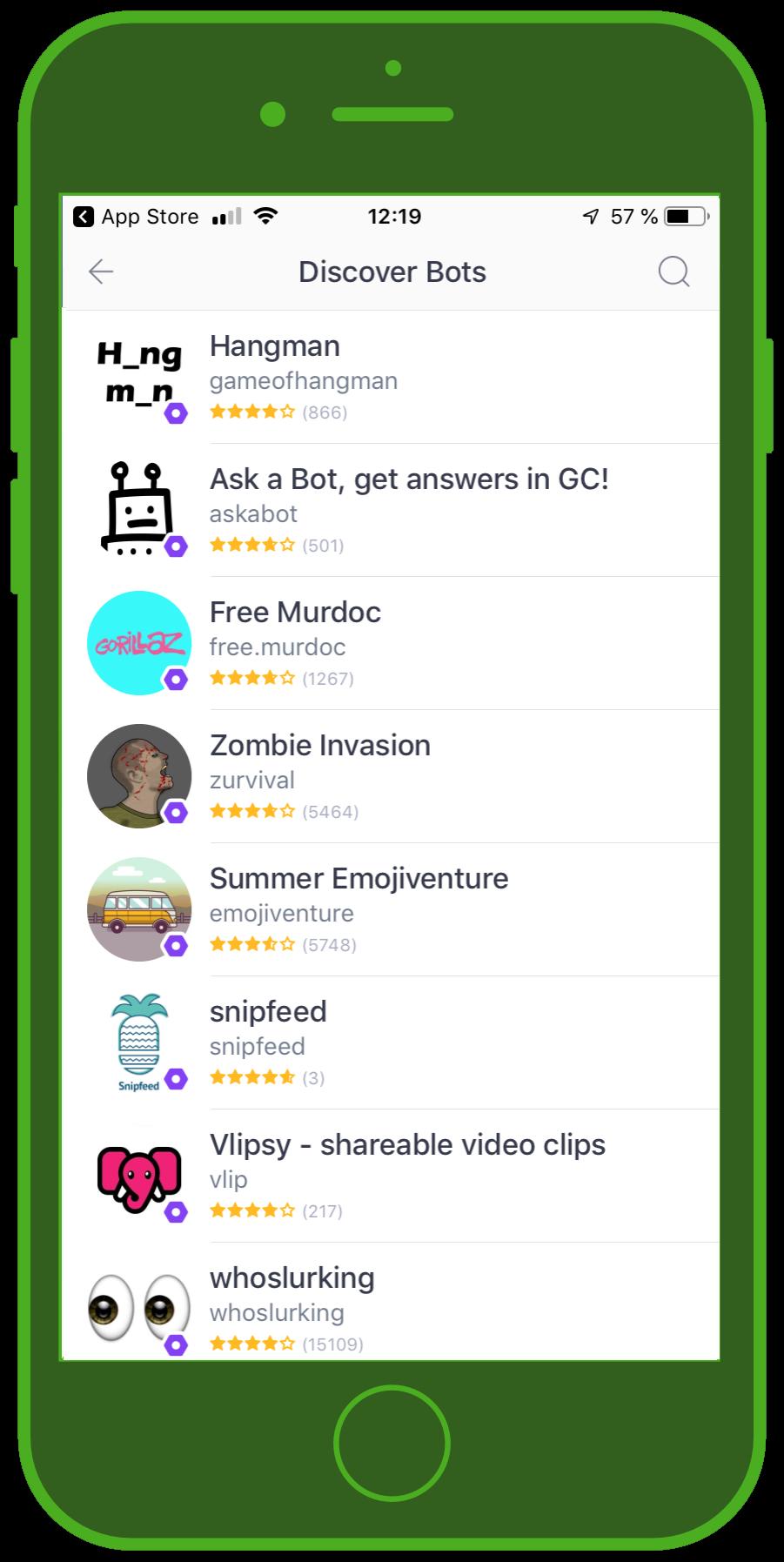 kik messenger discover bots 1