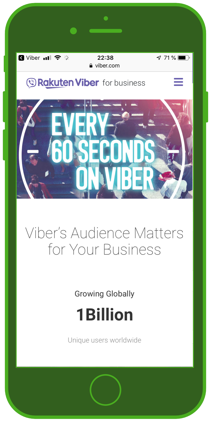 viber messenger business solutions