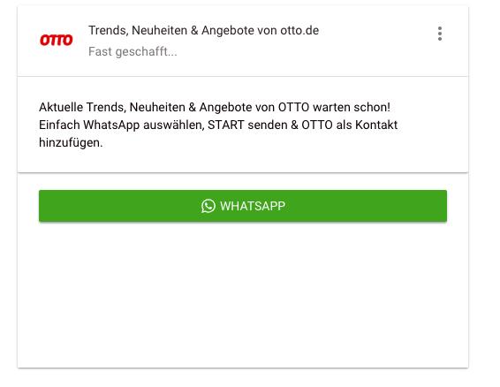 OTTO-WhatsApp-Alarm-Trends, Neuheiten & Angebote von otto.de