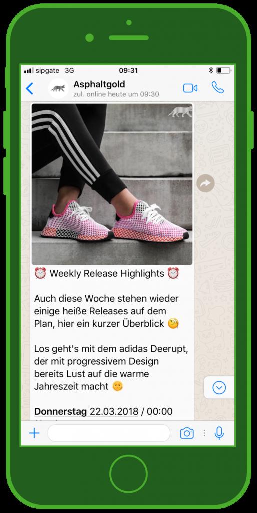 Vorsicht vor falschem Adidas Gewinnspiel auf WhatsApp | MDR JUMP