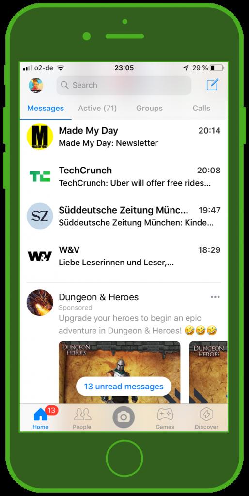 Messaging Apps & Brands Facebook Messenger Chats