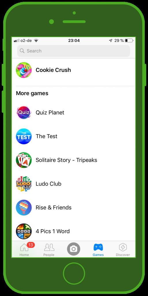 Messaging Apps & Brands Facebook Messenger Games