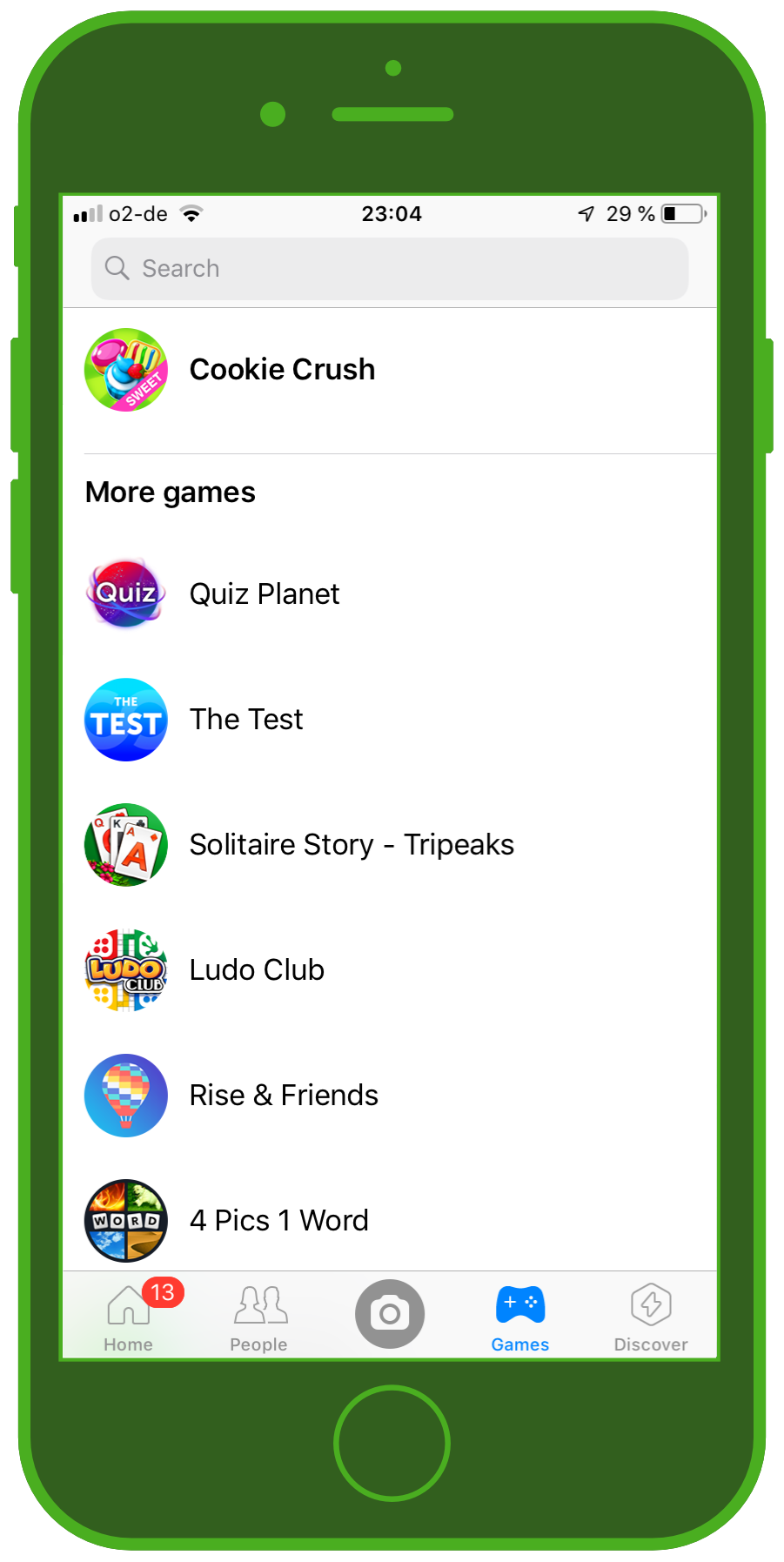 Messaging Apps & Brands Facebook Messenger Games
