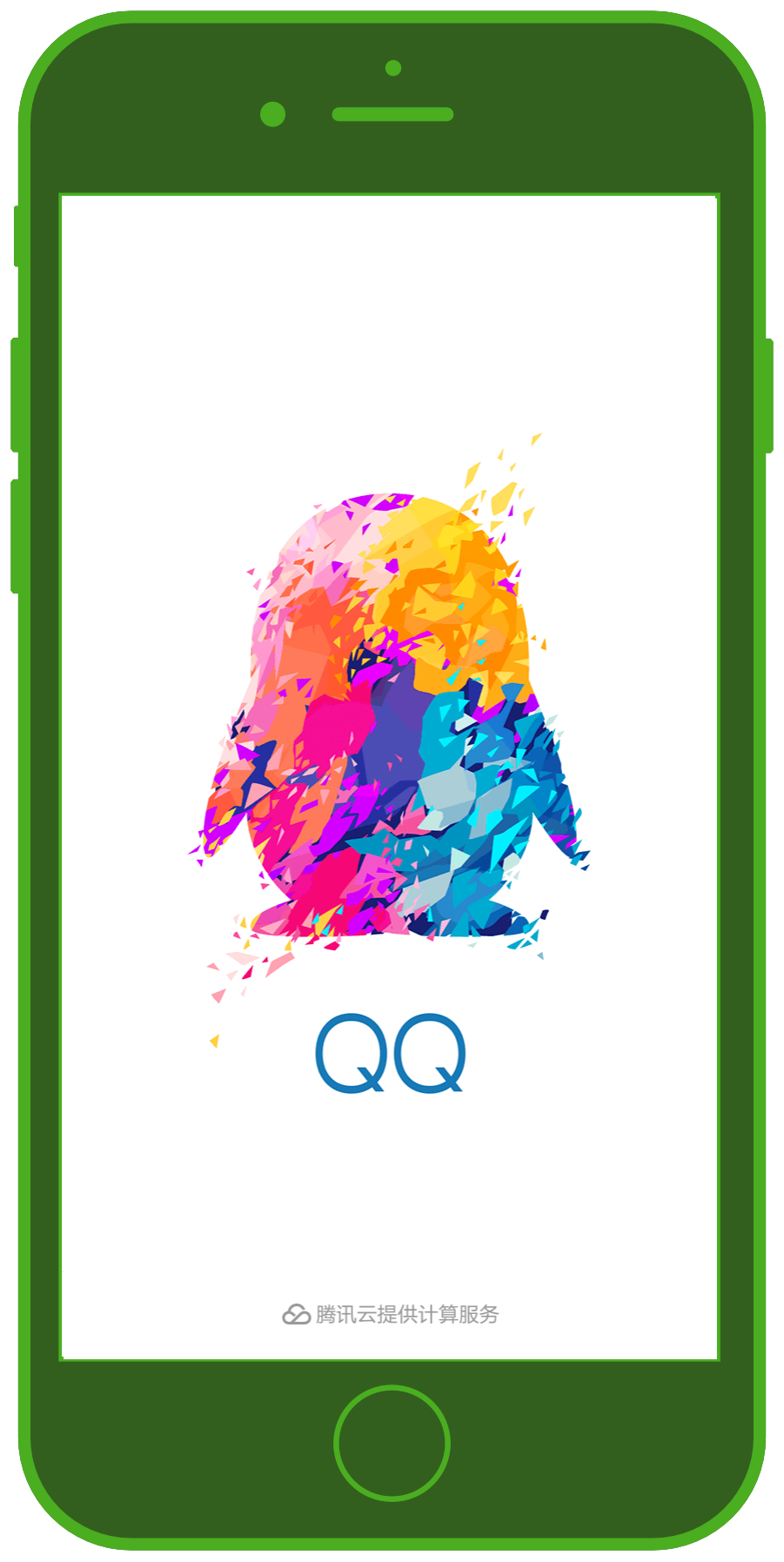 Messaging Apps & Brands QQ Messenger Logo