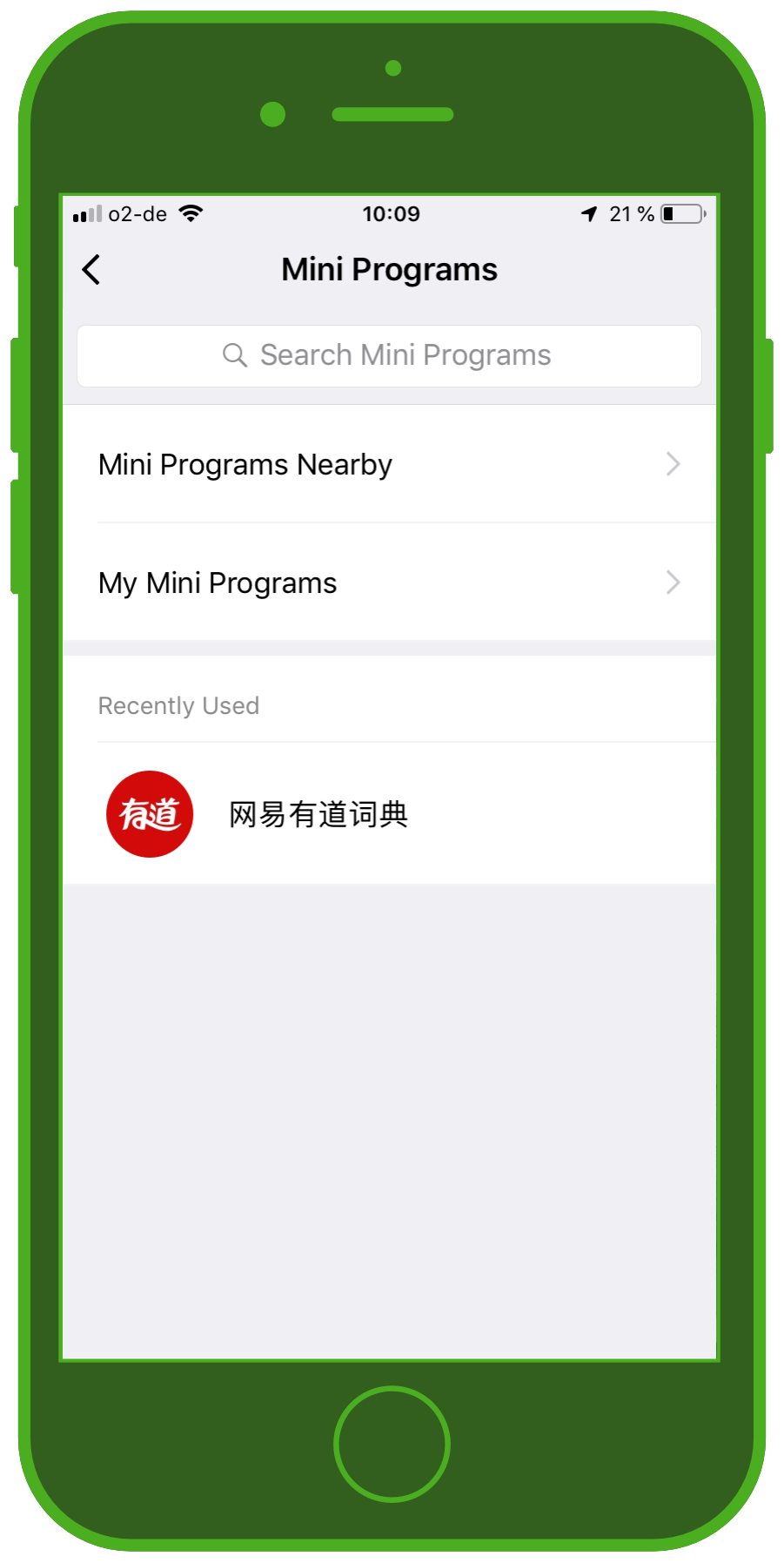 Messaging Apps & Brands WeChat Messenger Mini Programs