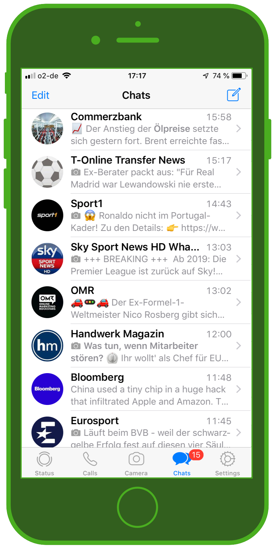 Messaging Apps & Brands WhatsApp Messenger Chats