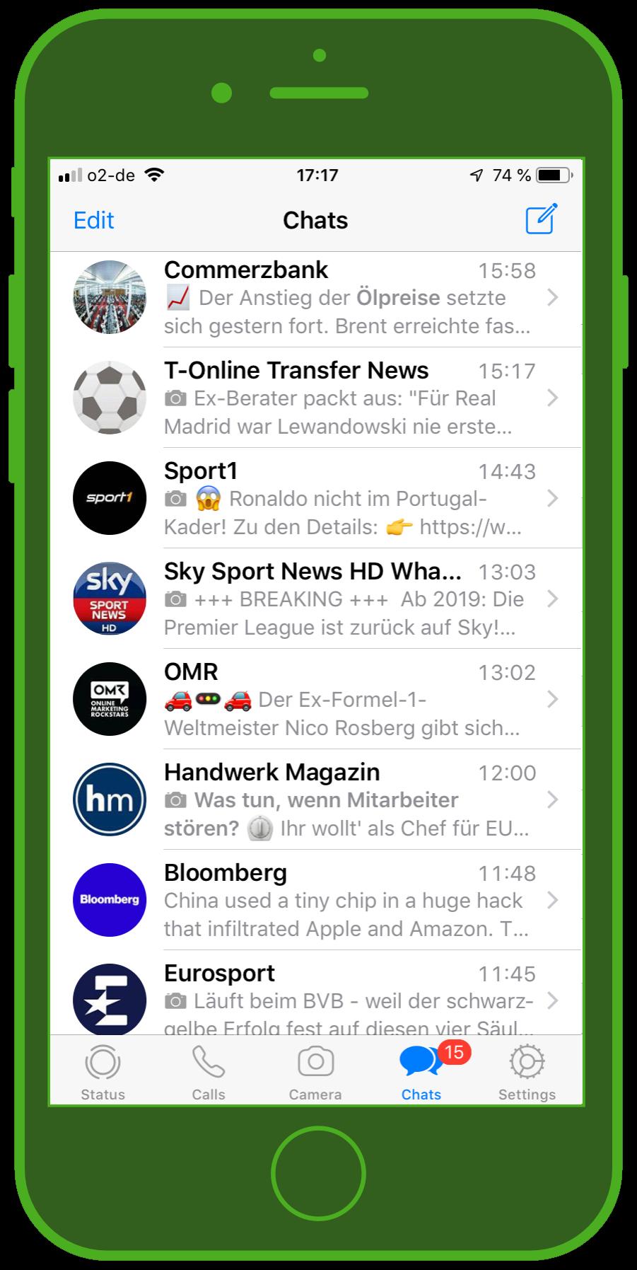 Messaging Apps & Brands WhatsApp Messenger Chats