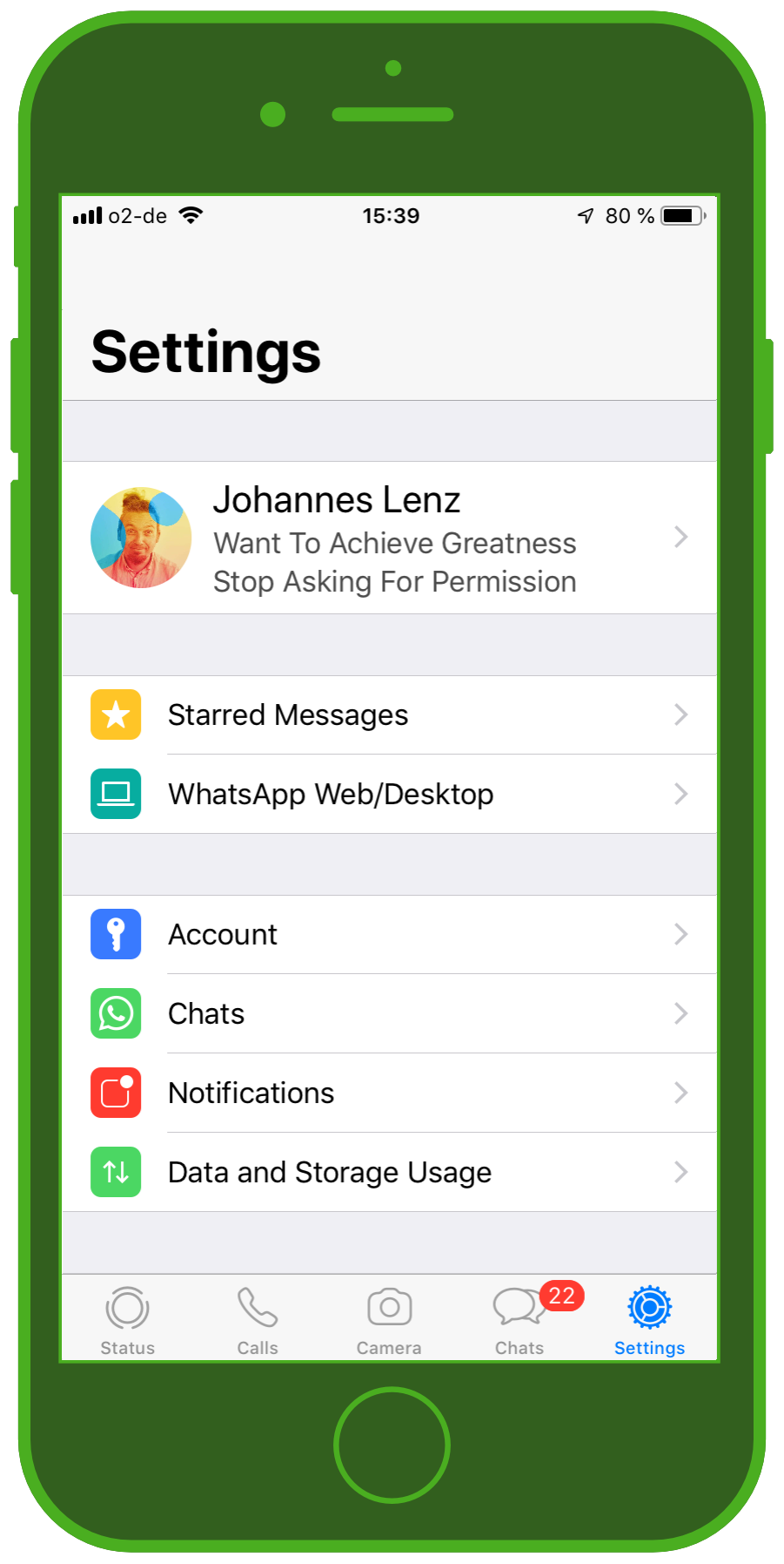 Messaging Apps & Brands WhatsApp Messenger Settings