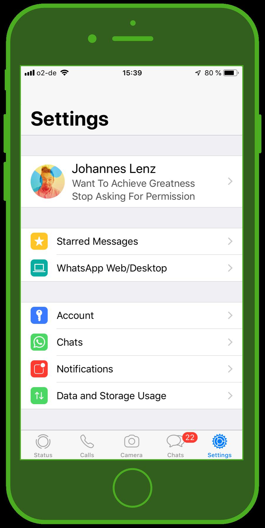 Messaging Apps & Brands WhatsApp Messenger Settings