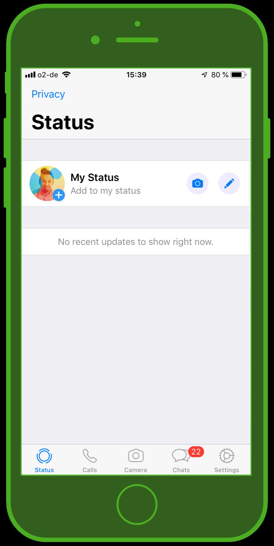 Messaging Apps & Brands WhatsApp Messenger Status