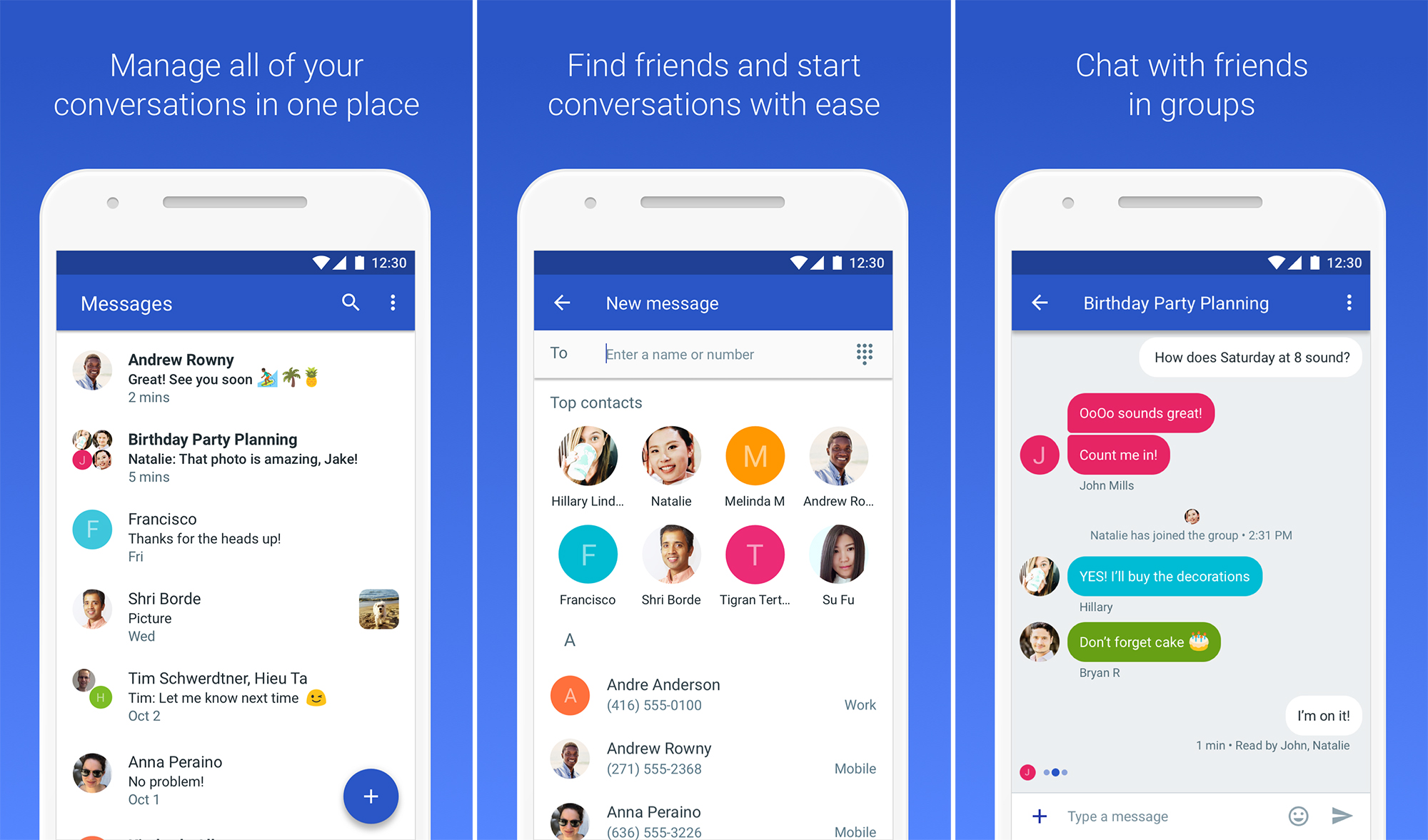Messaging Apps & Brands Google Android Messages
