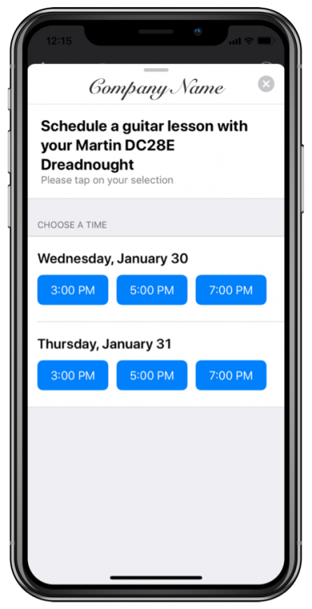 Apple-Business-Chat-Time-Picker