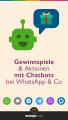 Chatbot Gewinnspiele und Kampagnen Pin