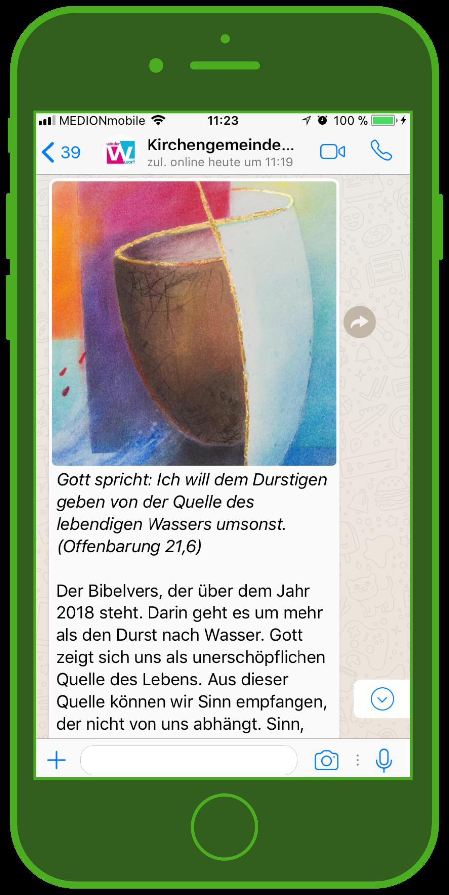 device-kirche-WhatsApp-Gott-Kirchengemeinde