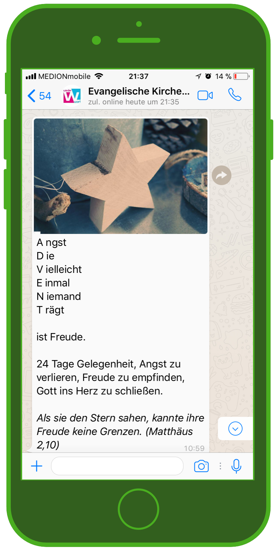 Whatsapp Adventskalender