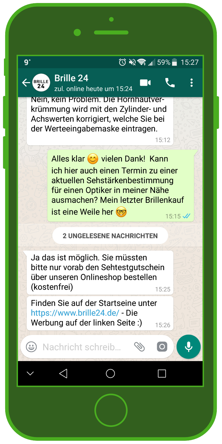 Customer Service and WhatsApp in E-commerce: 1:1 Chat, Chatbots