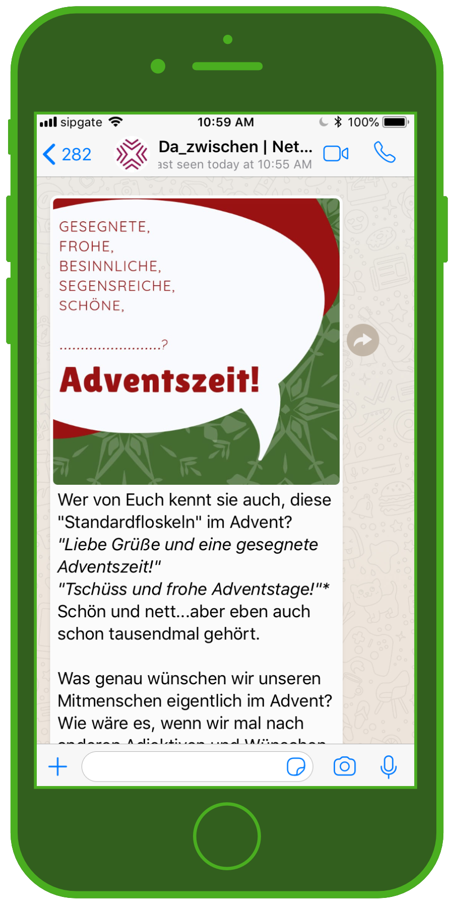 da_zwischen WhatsApp Screenshot Adventszeit