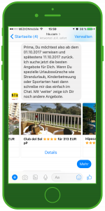 hlx Facebook Messenger WhatsApp Tourismus