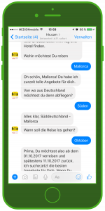 WhatsApp hlx Facebook Messenger WhatsApp Tourismus WhatsApp