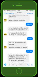 WhatsApp hlx Facebook Messenger WhatsApp Tourismus WhatsApp