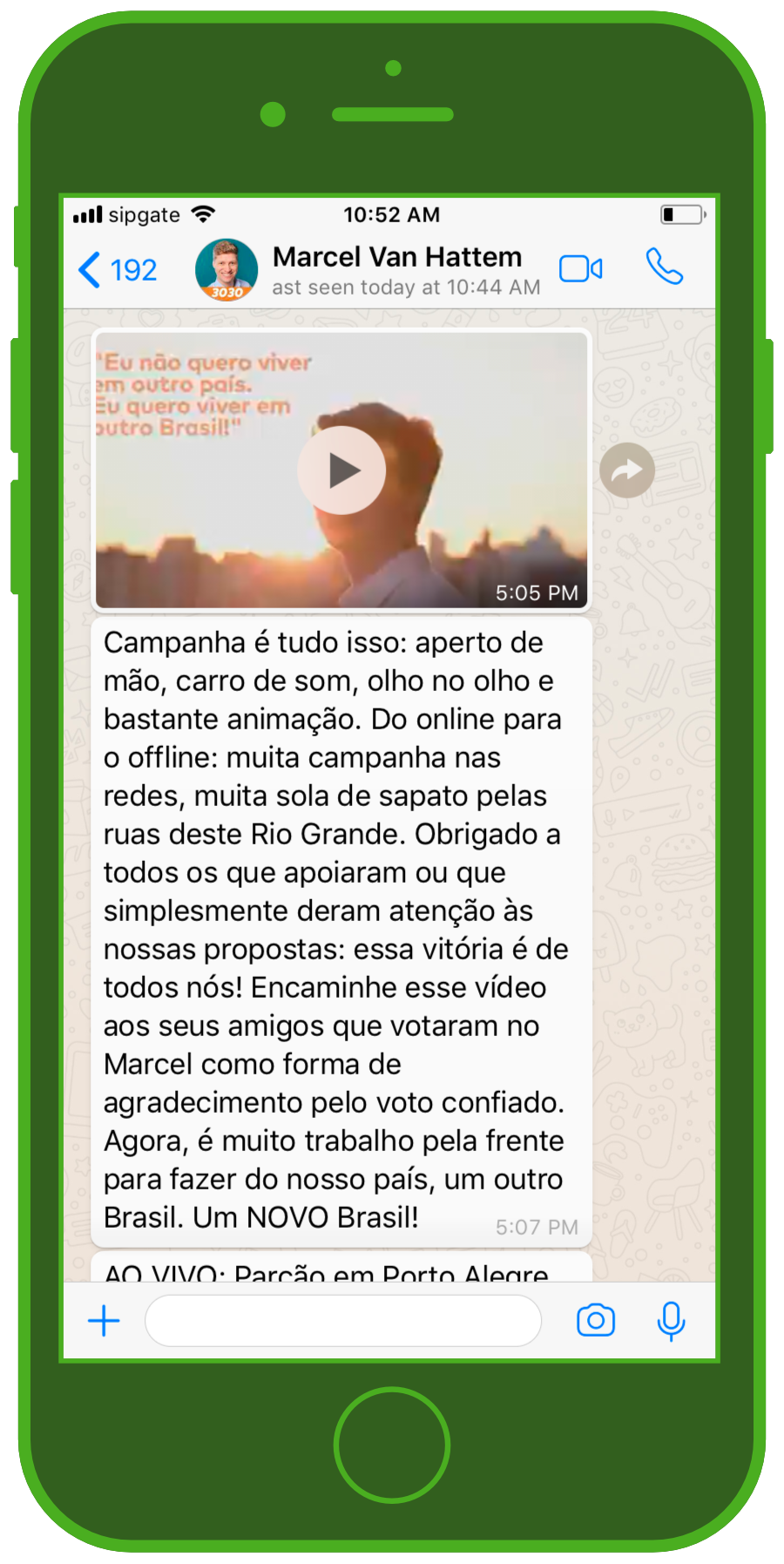 Election campaigns via WhatsApp – yea or nay? | MessengerPeople