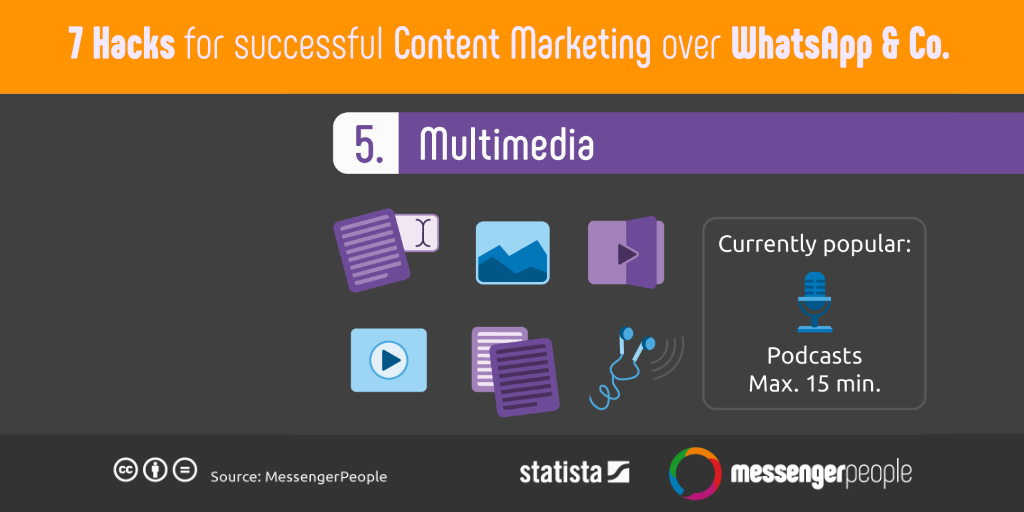 7 Hacks for Successful Content Marketing on WhatsApp and Co
