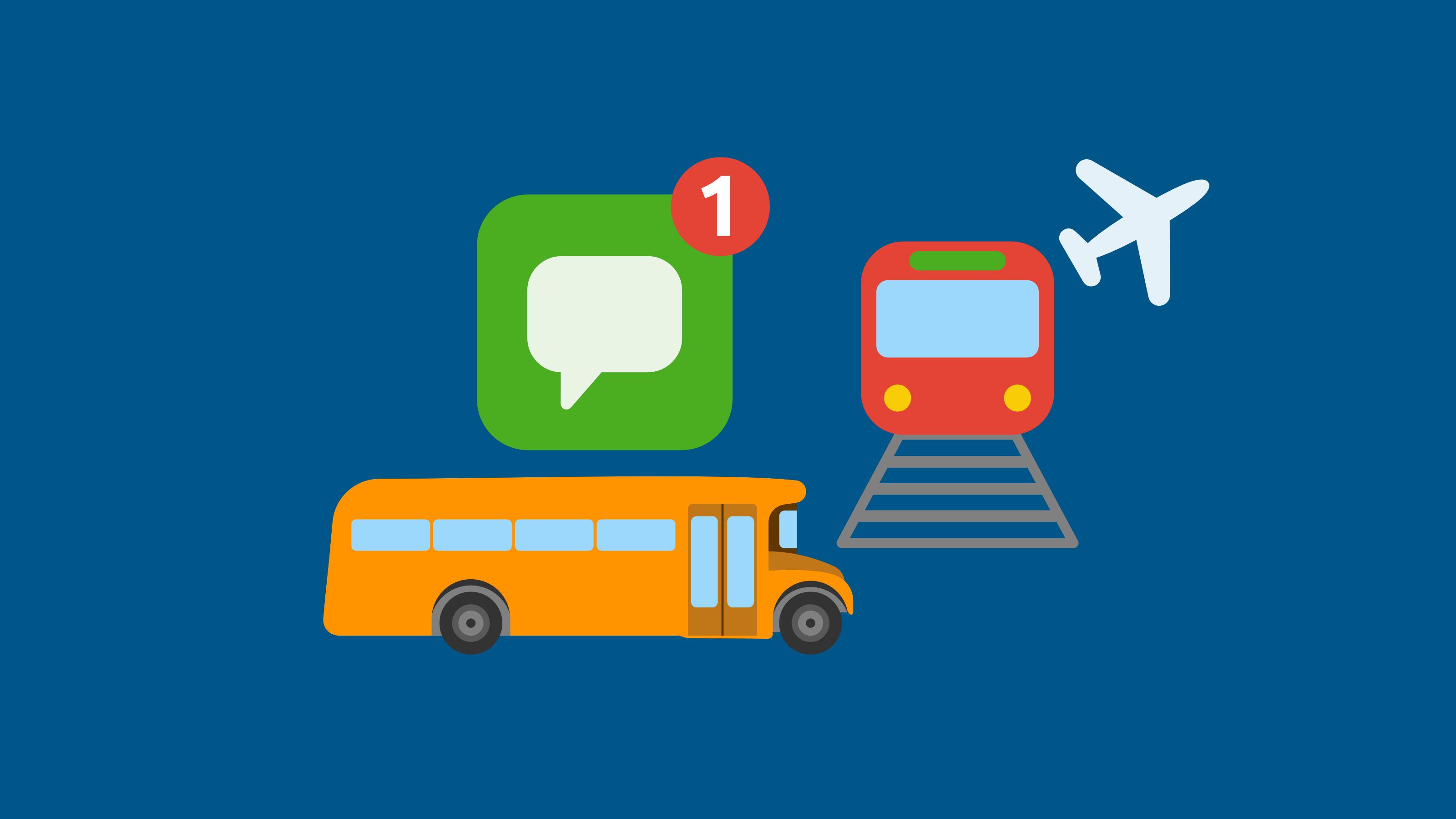 kundenservice-und-whatsapp-transport-notifications unternehmenskommunikation und whatsapp