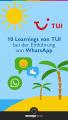 10 Learnings von TUI bei der Einführung von WhatsApp