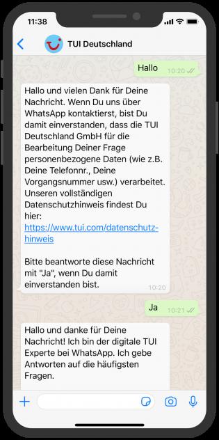 tui_whatsapp_FAQ-Chatbot_start