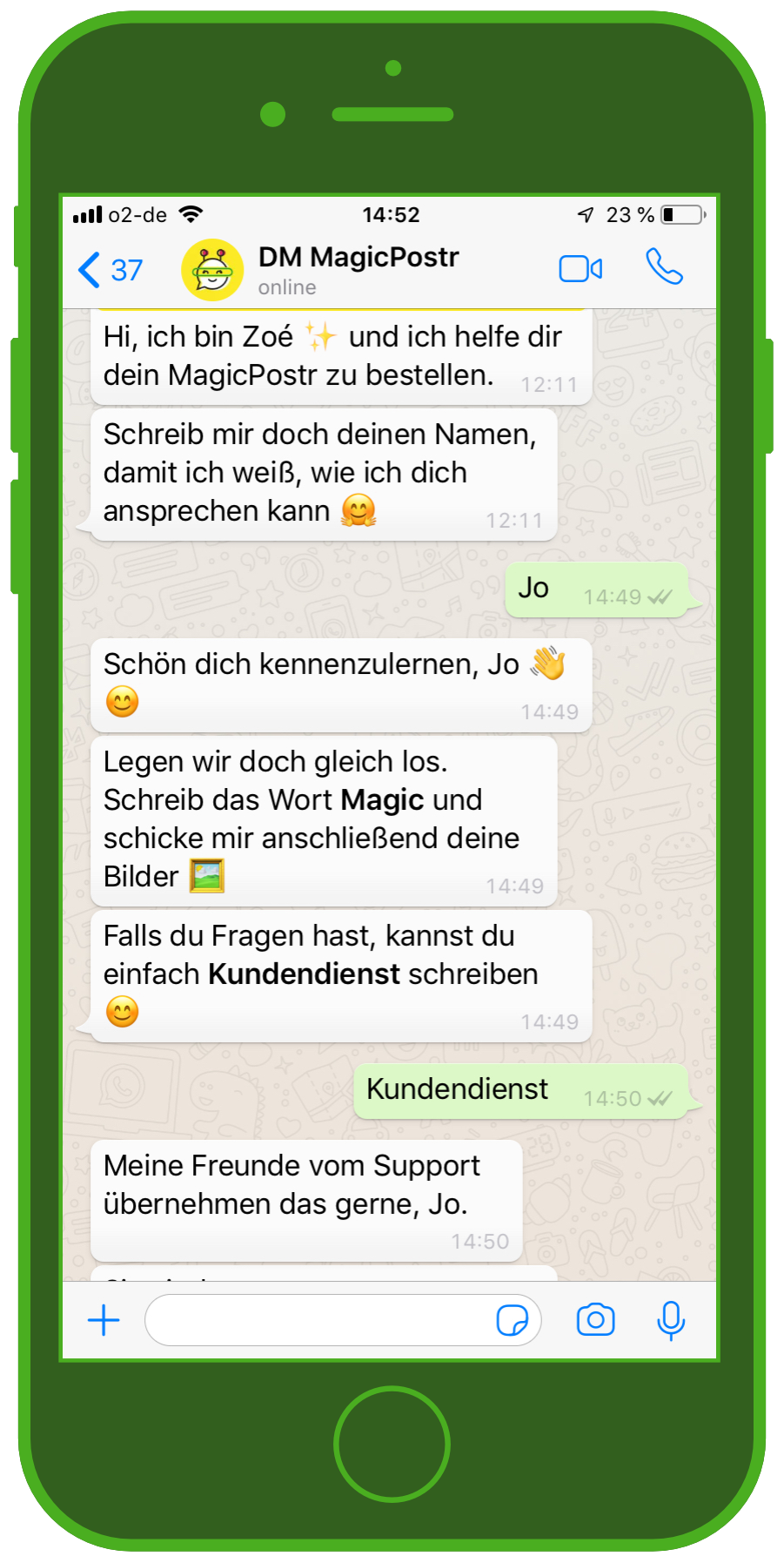 Customer Service And Whatsapp In E Commerce 1 1 Chat Chatbots Whatsapp Bots