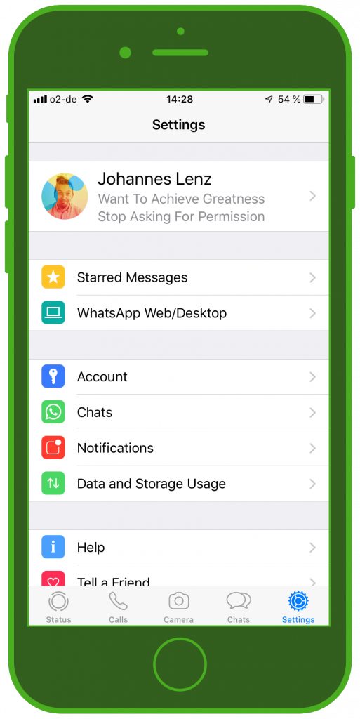 WhatsApp Update 2019 Touch ID Feature 1